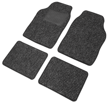 4-part floor mat complete set