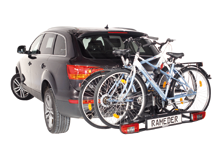 Bike carriers for towbars