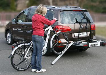 eBike bicycle carrier
