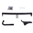 AUTO-HAK Towbar rigid incl. electrical set 13pins specific + adapter