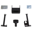 Bosal Towing hitch incl. electrical set 13pins universal + adapter