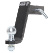 AUTO-HAK Towbar for square bracket with screwed-on ball head