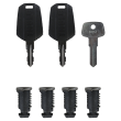Thule lock set 4504 for all Thule products