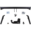 GDW Towbar detachable Towball inserted from below