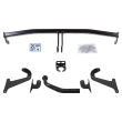 Brink Towbar rigid incl. electrical set 13pins specific + adapter