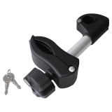 Short holding bracket for bike carriers EUFAB