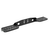 Footboard with double step for towing brackets with