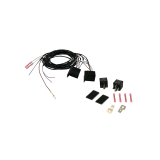 Extension set for rear fog lamp switch-off, vehicle-specific