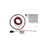 Extension kit prepared for vehicles without REC