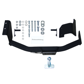 GDW Towing hitch incl. ECS electrical set 7pins specific
