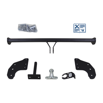 Brink Towing hitch incl. Trail-Tec electrical set 7pins universal