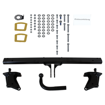 Westfalia Towbar rigid incl. electrical set 7pins universal