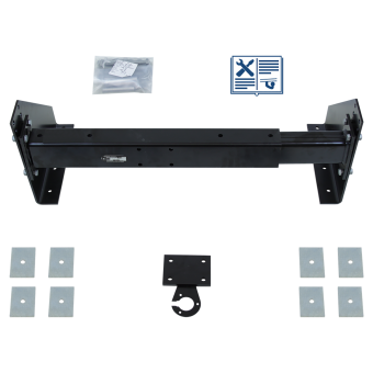 Towing bracket universial towing bracket for commercial vehicles and trucks