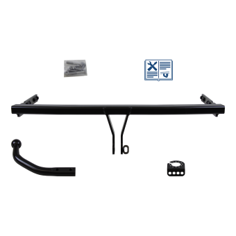 Bosal Towbar rigid incl. electrical set 7pins specific