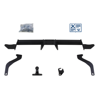 GDW Towing hitch incl. Trail-Tec electrical set 7pins specific