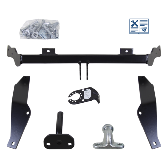 Brink Towing hitch incl. Trail-Tec electrical set 7pins specific