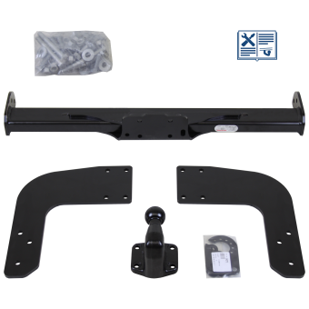 Oris Towing hitch incl. ECS electrical set 7pins specific