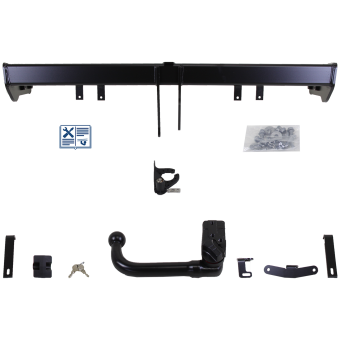 Brink Towbar detachable incl. electrical set 7pins universal