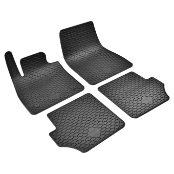 Rubber floor mats Black for FORD PUMA year of make 09.19-
