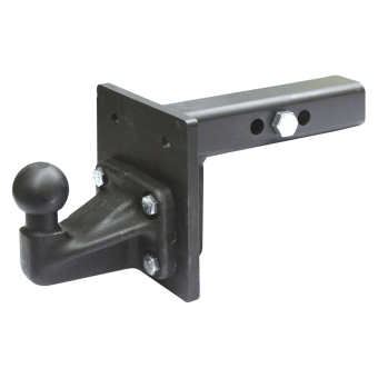 GDW Towbar for square bracket with 4-hole flange ball