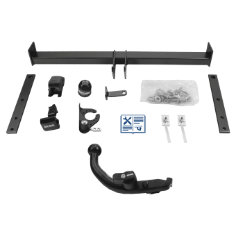 Brink Towbar detachable incl. Brink electrical set 13 pins specific
