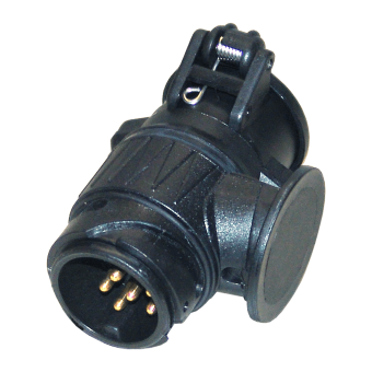 Short adapter 13 to 7 pole