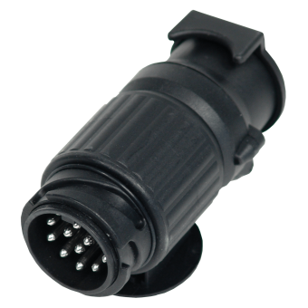 Short adapter 13 pole DIN to 13 pole Multicon