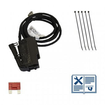 Extension set for vehicles without fuse holder