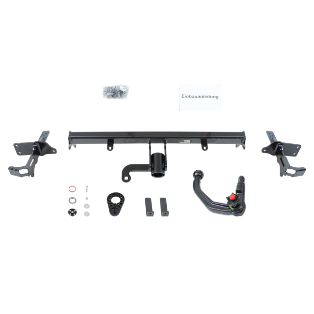 Westfalia Towbar detachable incl. electrical set 13pins specific + adapter