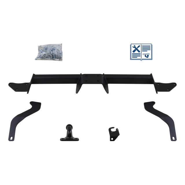 GDW Towing hitch incl. electrical set 7pins specific