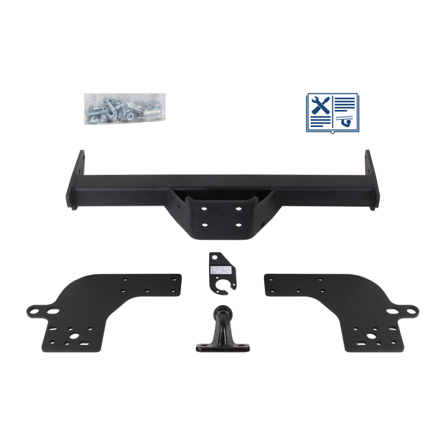 GDW  Towing hitch with 2-hole flange ball