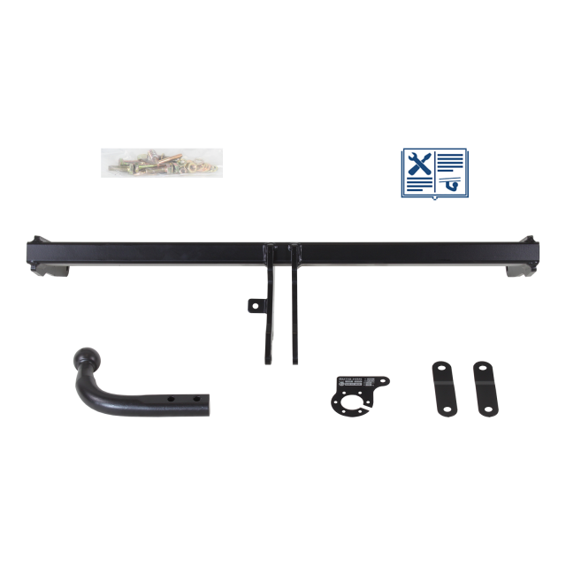 AUTO-HAK Towbar rigid incl. electrical set 7pins specific
