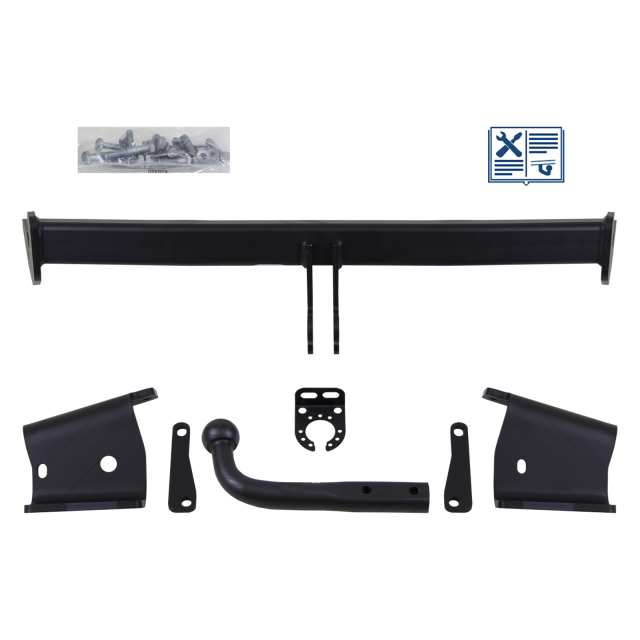 Brink Towbar rigid incl. electrical set 7pins universal