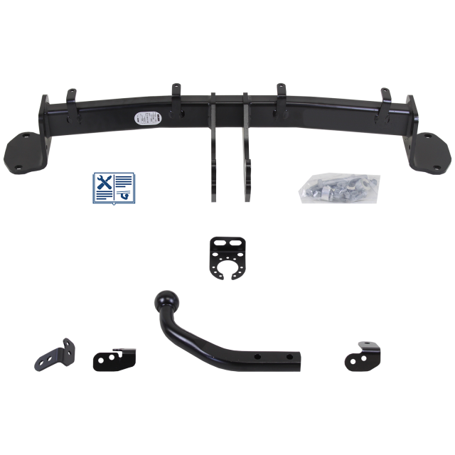 Brink Towbar rigid incl. electrical set 7pins specific