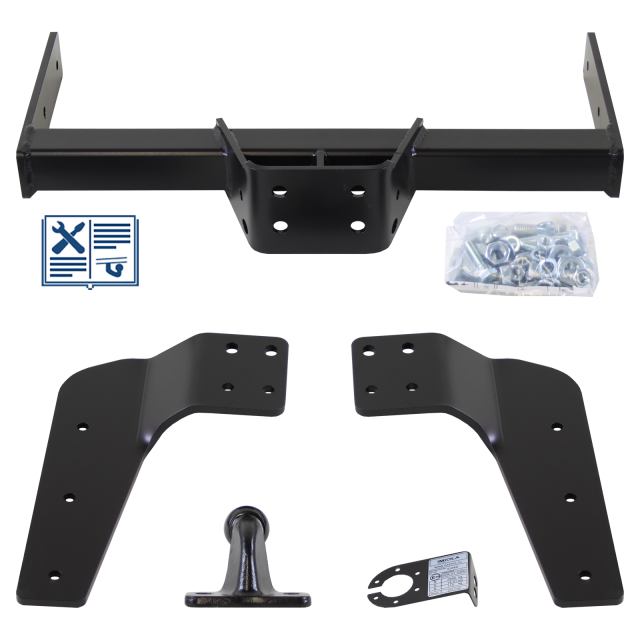 Hak-Pol Towing hitch incl. electrical set 7pins universal
