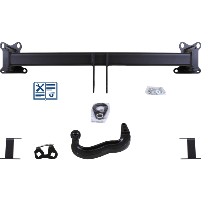Westfalia Towbar rigid incl. electrical set 7pins specific