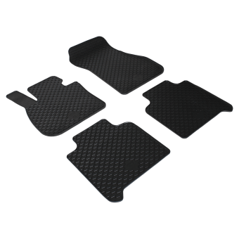 Rubber mats with velcro fastening