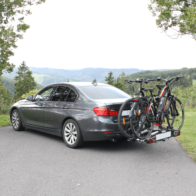 Bike Carrier Bike Lift For 2 Bicycles Mounting On The