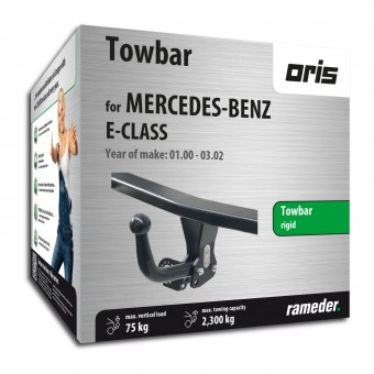 Oris Towbar rigid with screwed-on ball head