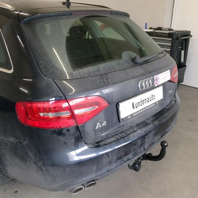 Auto Hak Towbar Detachable Audi A4 Avant Year Of Make 1107 Rameder