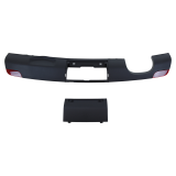 Bumper, lower section including cover - Audi A1 10-