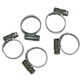 Hose clamps clamping range 6-12 mm