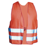 Safety vest colour: orange