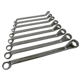 Box wrench Set of 8, cranked, sizes: 6 - 22mm