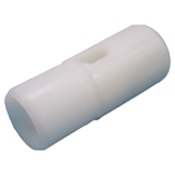 Tubing plug made of PVC
