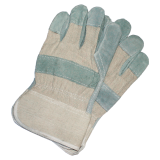 Work gloves made of cowhide