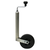 Support wheel 150 kg 48 mm diameter, with parking brake