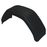 Mudguard single axle plastic mudguard for trailer