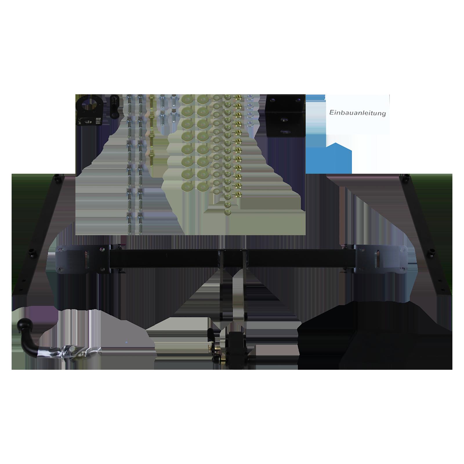 auto-hak towbar detachable incl  13 pin e-set