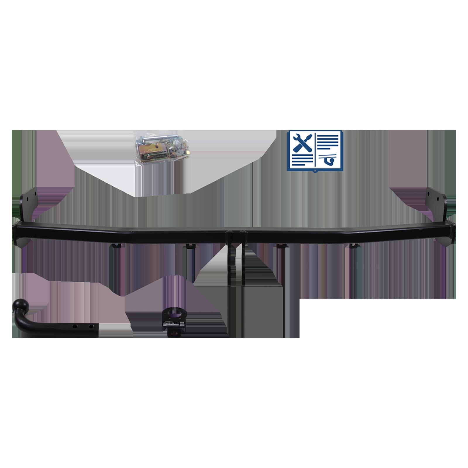 auto-hak towbar rigid incl  7 pin e-set